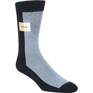 Calvin Klein Mens Socks Size 7-12 Dress Blue